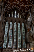 York Minster - stained glass from1250